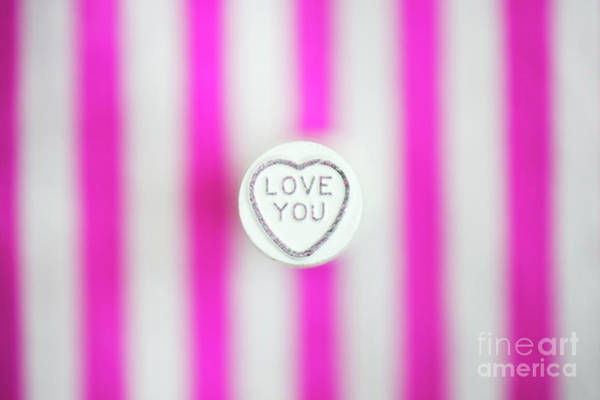 Saying Photograph - Love You by Tim Gainey
