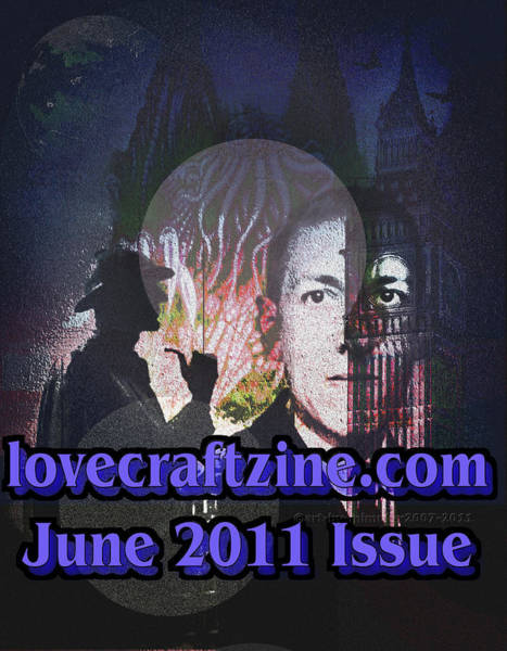 Lovecraftzine Coverpage June Art Print