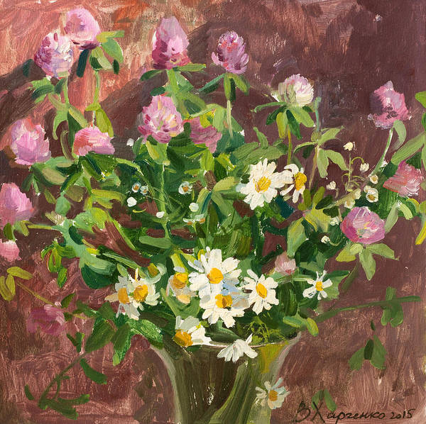 Wall Art - Painting - Lovely Bouquet by Victoria Kharchenko