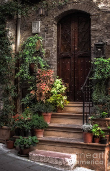 Photograph - Lovely Entrance by Prints of Italy