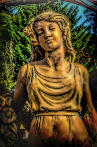 Wall Art - Photograph - Lovely Garden Statue by Garry Gay