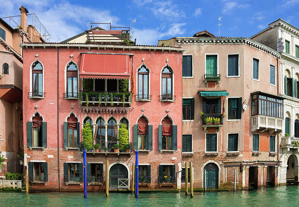 Photograph - Lovely Houses On The Water In Venice Italy by Matthias Hauser
