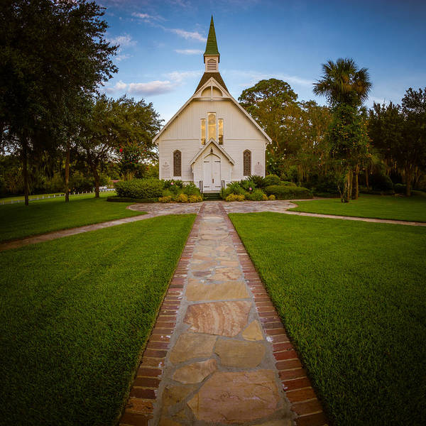 Photograph - Lovely Lane Chapel by Chris Bordeleau