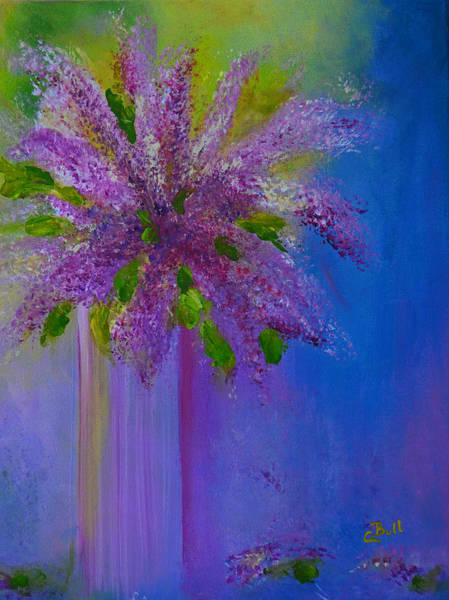 Painting - Lovely Lilacs by Claire Bull