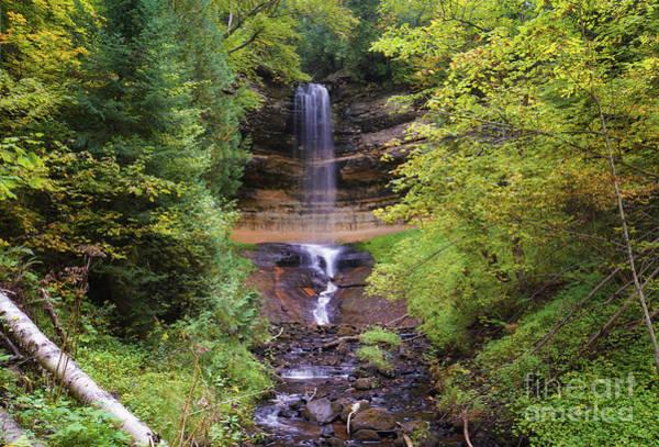 Photograph - Lovely Munising Falls 2 by Rachel Cohen