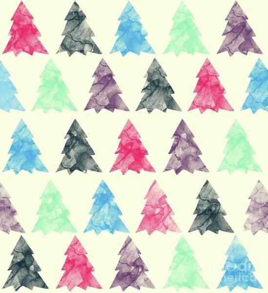 Christmas Digital Art - Lovely Pattern II by Amir Faysal