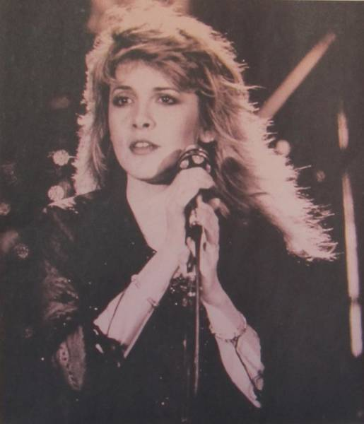 Stevie Nicks Photograph - Lovely Stevie Nicks by Donna Wilson
