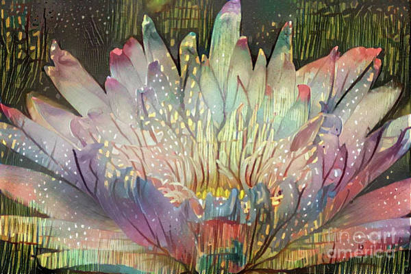 Lilly Pad Digital Art - Lovely Waterlilies 6 by Amy Cicconi