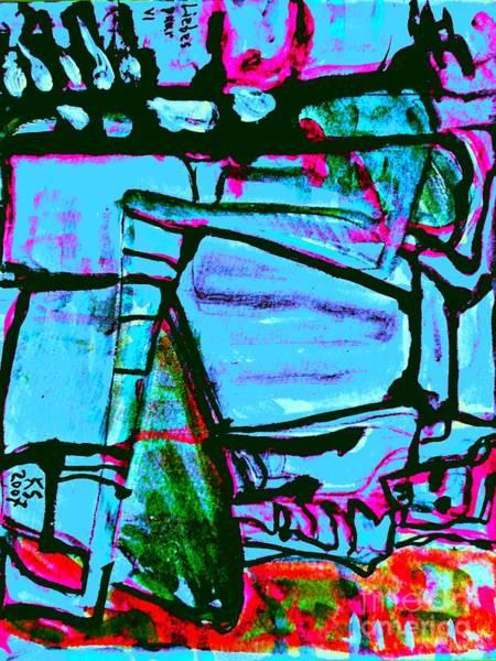 Painting - Lovers-11 by Katerina Stamatelos