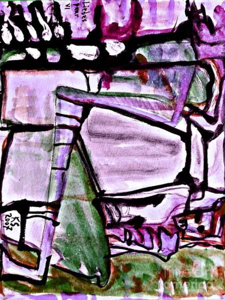 Painting - Lovers-9 by Katerina Stamatelos