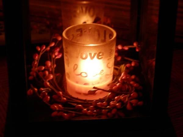 Love's Glow Art Print