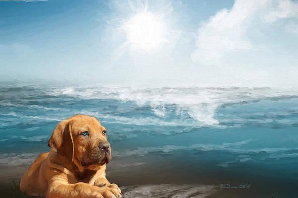Photograph - Loving The Ocean by Ericamaxine Price