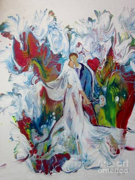 Painting - Loving You With All My Heart by Deborah Nell