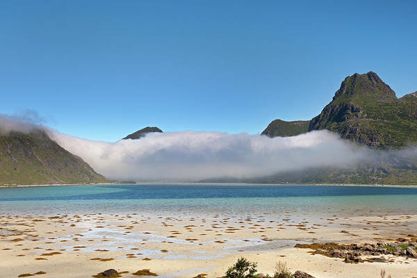Photograph - Low Clouds Above Boosen by Aivar Mikko