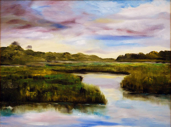 Painting - Low Country by Phil Burton