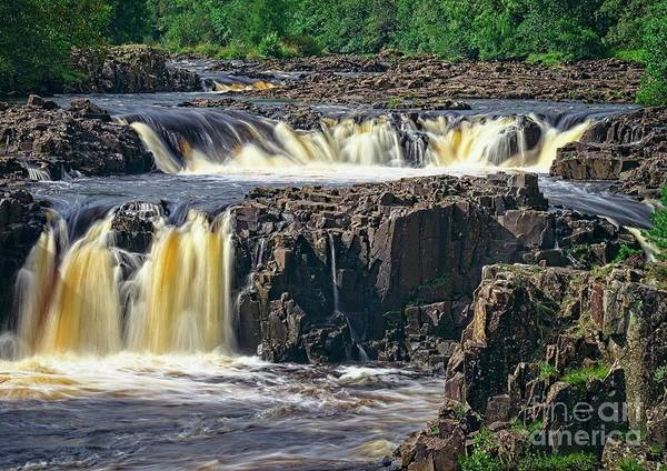 Photograph - Low Force Waterfall by Martyn Arnold