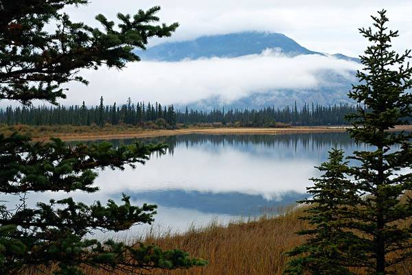 Photograph - Low Hanging Clouds by Larry Ricker