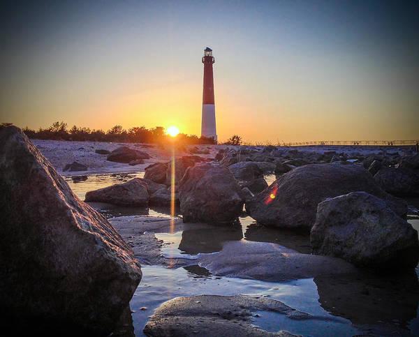Barnegat Lighthouse Photograph - Low Light by Kristopher Schoenleber