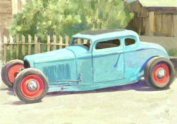 Digital Art - Low Rod Dop by David King