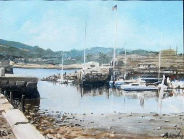Painting - Low Tide 1 by William Brody