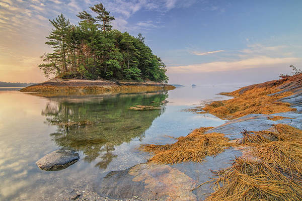 Photograph - Low Tide At Googins Island by Kristen Wilkinson