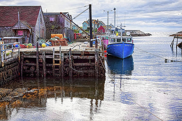 Photograph - Low Tide At Peggy's Cove 6 by Tatiana Travelways