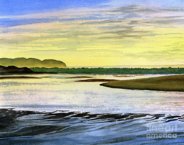Wall Art - Painting - Low Tide At Sunrise by Sharon Freeman