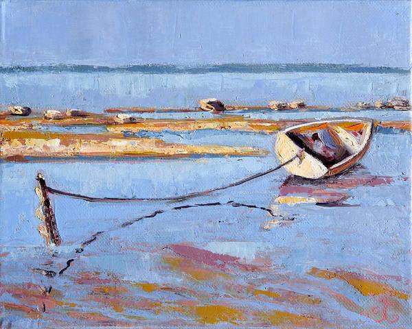 Low Tide Flats II Art Print