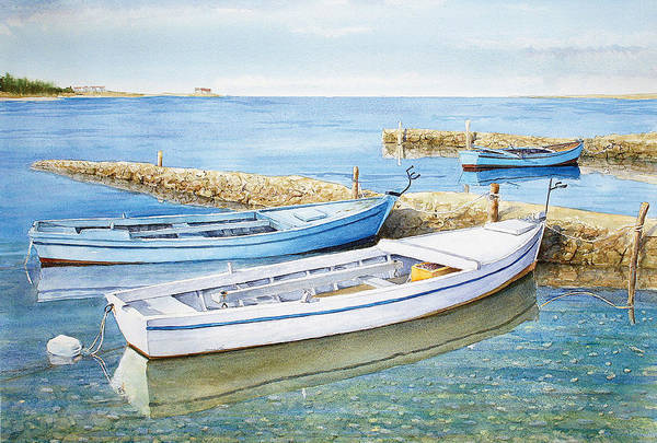 Clear Coat Wall Art - Painting - Low Tide by Mirsad Mehulic