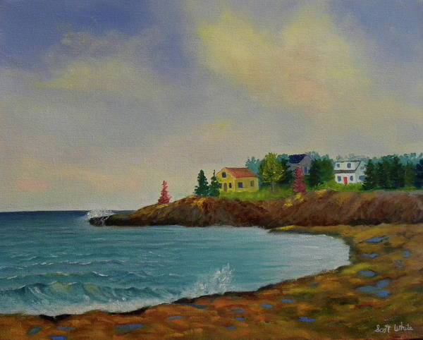 Painting - Low Tide by Scott W White