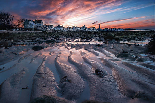 Photograph - Low Tide Sunset In Northport, New York by Alissa Beth Photography