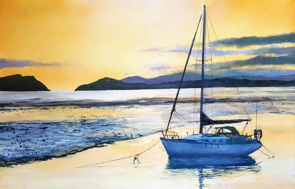 Painting - Low Tide by Tim Johnson