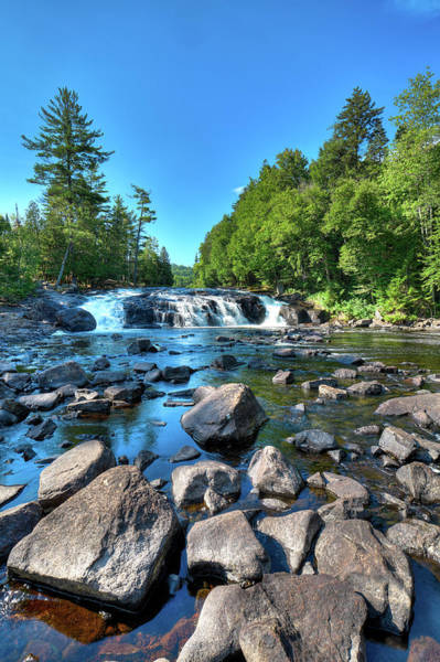 Photograph - Low Water At Buttermilk Falls by David Patterson