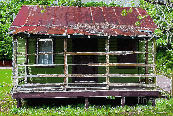 Photograph - Lowcounty Sweetgrass Shack by Dale Powell