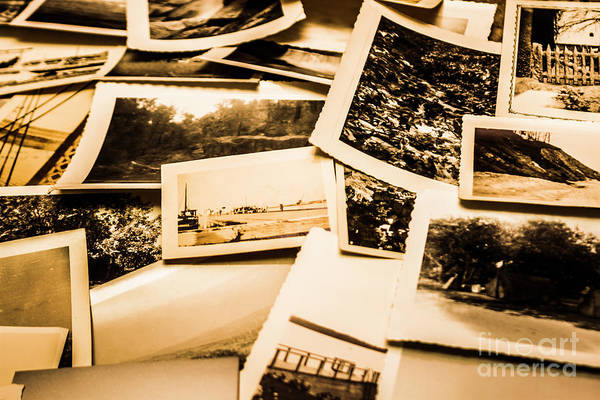 Time Frame Photograph - Lowdown On A Vintage Photo Collections by Jorgo Photography - Wall Art Gallery