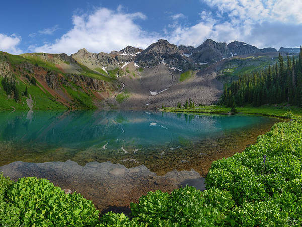 Photograph - Lower Blue Lake by Aaron Spong