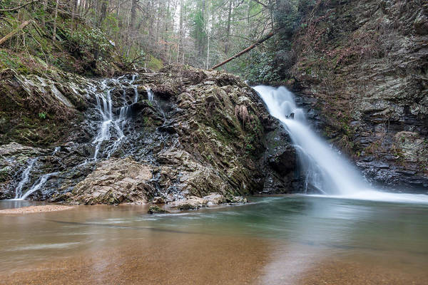 Lower Brasstown Falls Art Print
