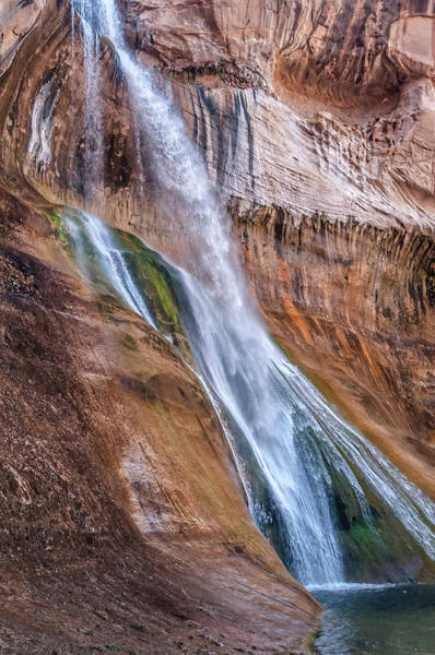Photograph - Lower Calf Creek Falls II by Chuck Jason