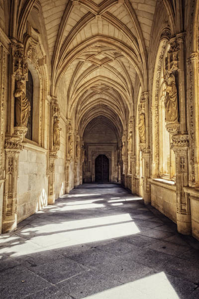Cloister Photograph - Lower Cloister by Joan Carroll