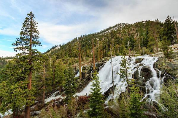 Lightroom Photograph - Lower Eagle Falls Graceful Descent by Mike Herron