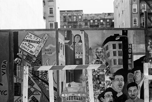 Photograph - Lower East Side Mural by Dave Beckerman