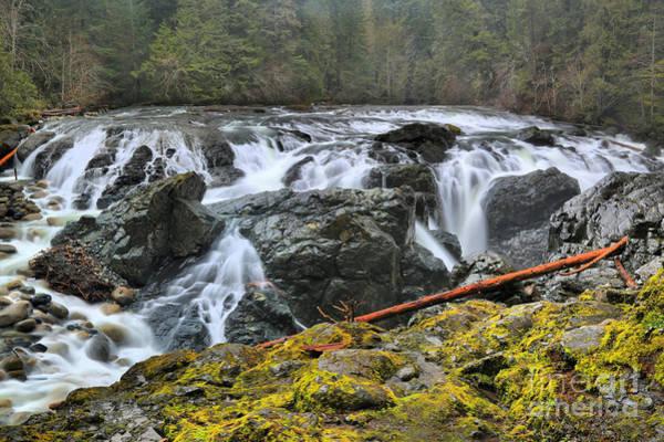 Photograph - Lower Englishman Falls by Adam Jewell