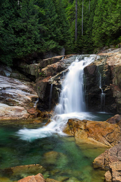 Metro Vancouver Wall Art - Photograph - Lower Falls And Gold Creek by Michael Russell