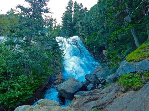 Photograph - Lower Falls Bells Canyon by Dan Miller