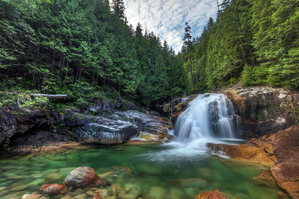 Photograph - Lower Falls In Golden Ears Provincial Park by Pierre Leclerc Photography