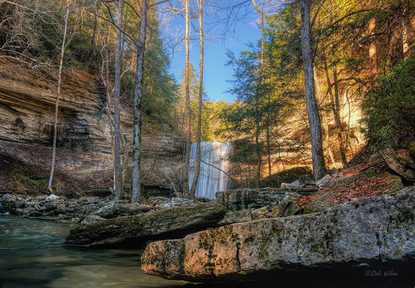 Greeters Photograph - Lower Greeter Falls 2 by Dale Wilson