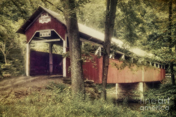 Somerset County Photograph - Lower Humbert Covered Bridge 38-56-12 Somerset County Pennsylvan by Robert Gardner