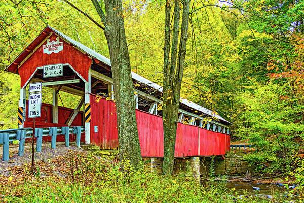 Lower Humbert Covered Bridge Art Print