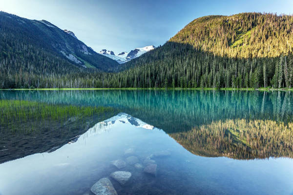 Photograph - Lower Joffre Lake Reflection by Pierre Leclerc Photography