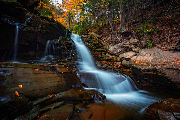 Catskills Photograph - Lower Kaaterskill Falls by Rick Berk